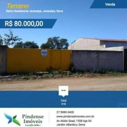 Terreno em Jacaraípe, 318m²