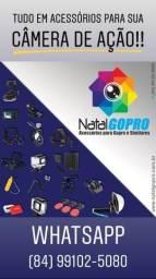 Acessórios para câmeras GoPo, DJi Action Cam, SJCam, Sony e similares