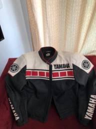 Jaqueta Yamaha em Couro Legítimo