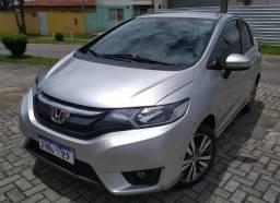 Honda Fit automático CVT 2015 baixa km - 2015
