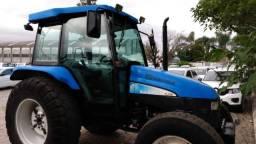 Trator New Holland TL 75 E 4x4 ano 11 cwb