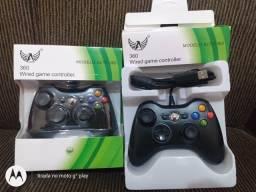 Controle Xbox 360 slim fat Jasper USB com fio novo na caixa aceito cartão comprar usado  Valparaíso de Goiás