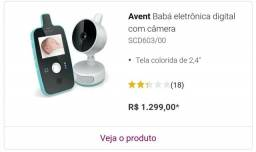 Babá eletrônica Philips Avent, segurança para o seu bebê comprar usado  Rio de Janeiro