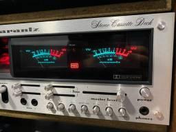 Tape deck marantz model 5220 impecavel raridade perfeito