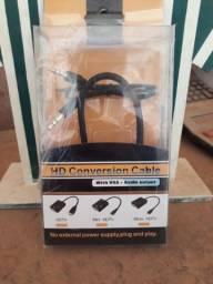 Conversor de VGA para HDMI