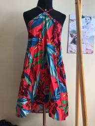 Vestido Bali - Estampado curto