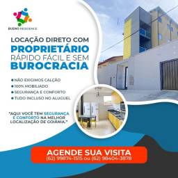 Título do anúncio: Quartos individuais com áreas comuns compartilhadas Goiânia Goiás