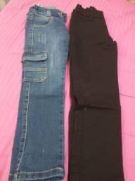 Duas calças infantil