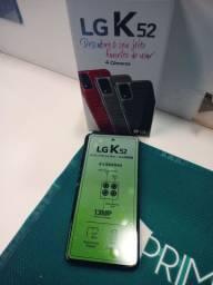 LG k52 64GB novo