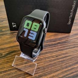(Promoção) Duas Smartwatch X7 | Faz e recebe ligações| tela personalizável(Envio imediato)