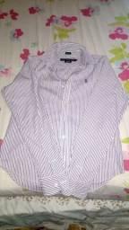 Camisa polo femenina
