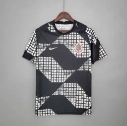Camisa Corinthians away 2021 tamanho M