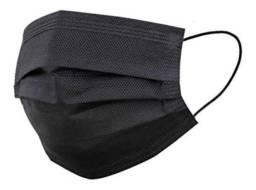 Máscara descartável 3 camadas pacote com 50 unidades