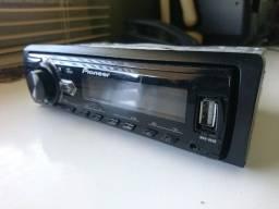 Rádio Pioneer MVH-85UB Com Entrada USB e AUX.