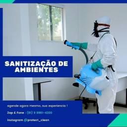 Título do anúncio: Sanitização & Desinfecção de Ambientes