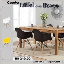 Cadeira Eiffel com Braço - Frete Grátis para Arapongas e região.