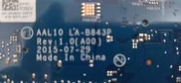 Título do anúncio: Placa Mãe Dell Inspiron 5458 5558 5758 Core I5 La-b843p