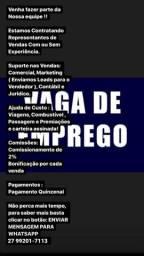 Título do anúncio: VAGA DE EMPREGO