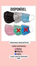 Título do anúncio: Máscaras descartável