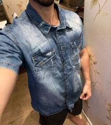 Título do anúncio: Vendo camisa Jeans