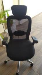 Título do anúncio: Cadeira Giratória New Ergon com Apoio de Cabeça Frisokar