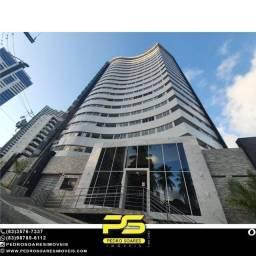 Apartamento com 1 dormitório à venda, 46 m² por R$ 200.000,00 - Miramar - João Pessoa/PB