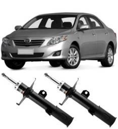 Título do anúncio: 2 Amortecedores dianteiros Toyota Corolla 2009 a 2014 Turbogás