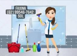 Título do anúncio: Faço faxinas,serviço doméstico.