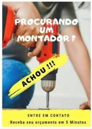 Título do anúncio: Montador Desmontagem e Montagem