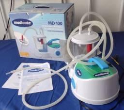 Título do anúncio: Aspirador Cirúrgico de Sangue e Saliva - 1L MD100 - Medicate