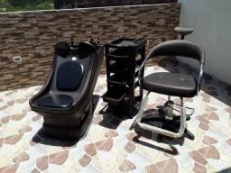 Kit de salão de cabeleireiro