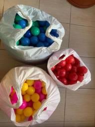 Bolinhas de plástico