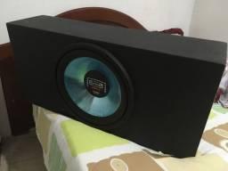 Caixa de som com subwoofer de 15 polegadas SSL
