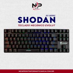 Teclado Mecanico Gamer Evolut Shodan Eg203 - Promoção!!