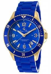 Relogio Lucien Piccard Azul Modelo Feminino 93608-yg-33