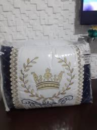 Título do anúncio: Kit berço Americano 9 peças 100% algodão