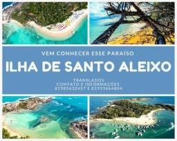 Título do anúncio: Passeios de lancha para ilha de Santo aleixo