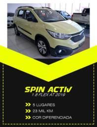 Spin Activ 5L Automática 2019 (Super Porta-Malas / Linda Cor) Confira!