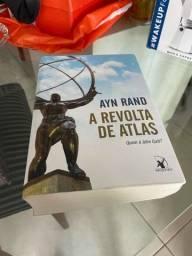 Título do anúncio: Livro a revolta de atlas novissimo!