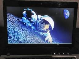 Notebook lenovo 300gb hd, 2 de ram, intel core i3
