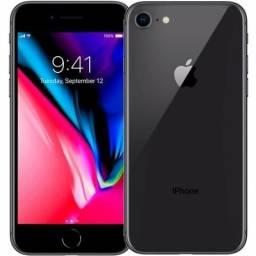 IPhone 8 64gb Space Gray / Novo Lacrado / 1 Ano Garantia / Até 12X Cartão