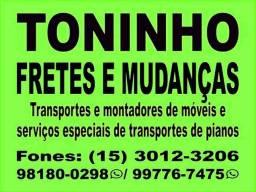 Disk mudanças e fretes para todo brasil whatsapp (15)98180-0298