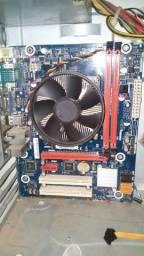 Kit i3 4130 3.40 GHz + Placa Mãe 1150 IPMH81-P1 + 4GB Memória computador