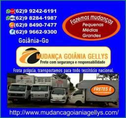 Mudanças e Fretes disponivel com Preços especial,Tratar com Gellys.9-8490-74-77