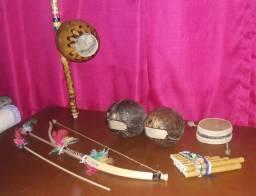 Kit Instrumentos Indígenas e Africanos