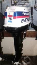 Motor de popa evinrude 25 hp