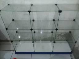 Vendo balcão de vidro 290,00 reais