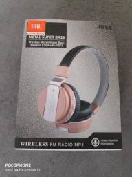 Fone JBL wireless (novo) aceiti cartão