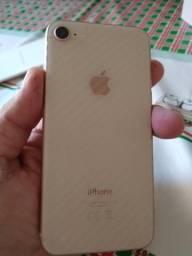 IPhone 8 256gb dourado bem conservado