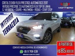 Hyundai Creta 2.0 16v Flex Prestige Automático Top de Linha C/ Interior Terracota - 2017
